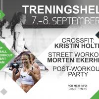 Treningshelg 8 – 9 September på Gym Stryn